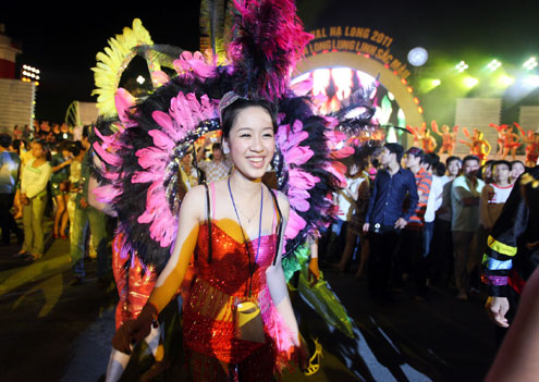 Carnival Festival in Halong Bay