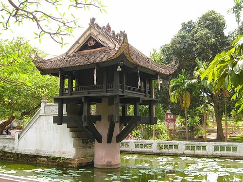 One Pillar Pagoda | Hanoi attractions