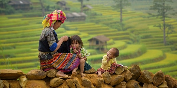 Best time to visit Mu Cang Chai for great pictures of rice terraces