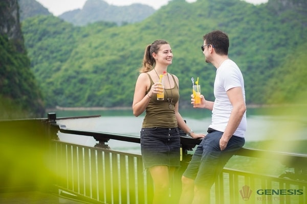 Genesis Regal Cruise : Great sense of Halong bay & Lan Ha bay beauty