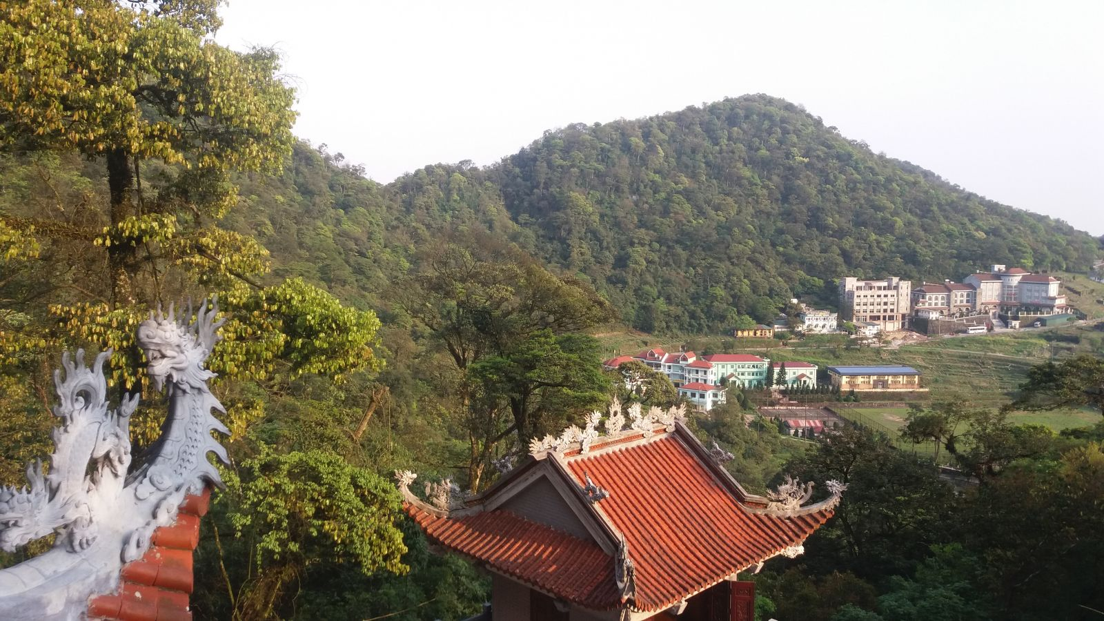 View of Tam Dao Town