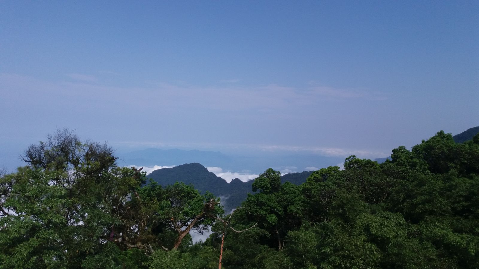 Tam Dao Trekking Tours - Mountain View