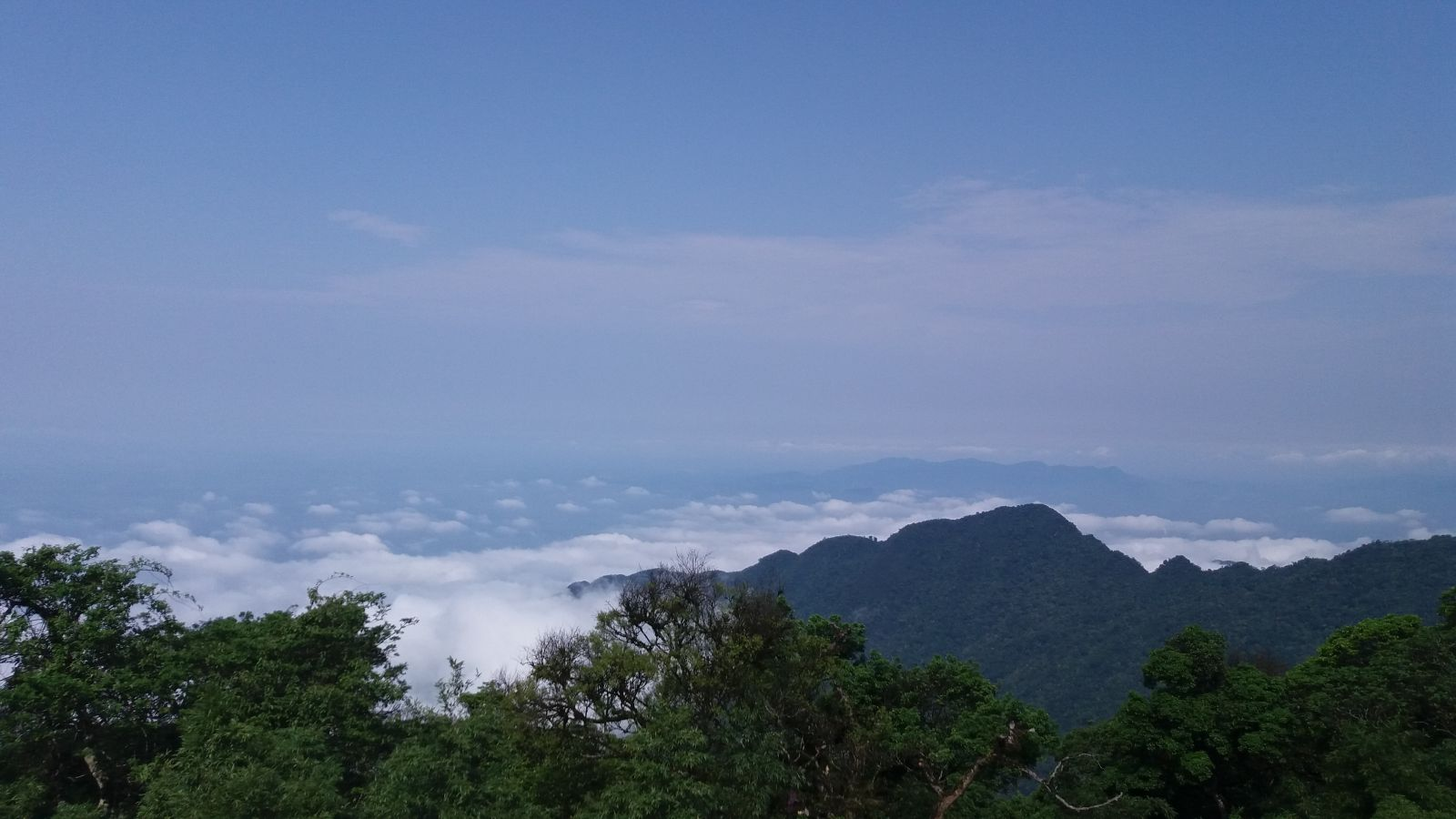 Tam Dao Trekking Tour 2days - top view