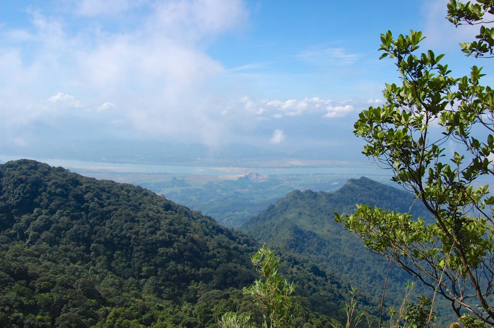 Ba Vi national park- view from the top peak