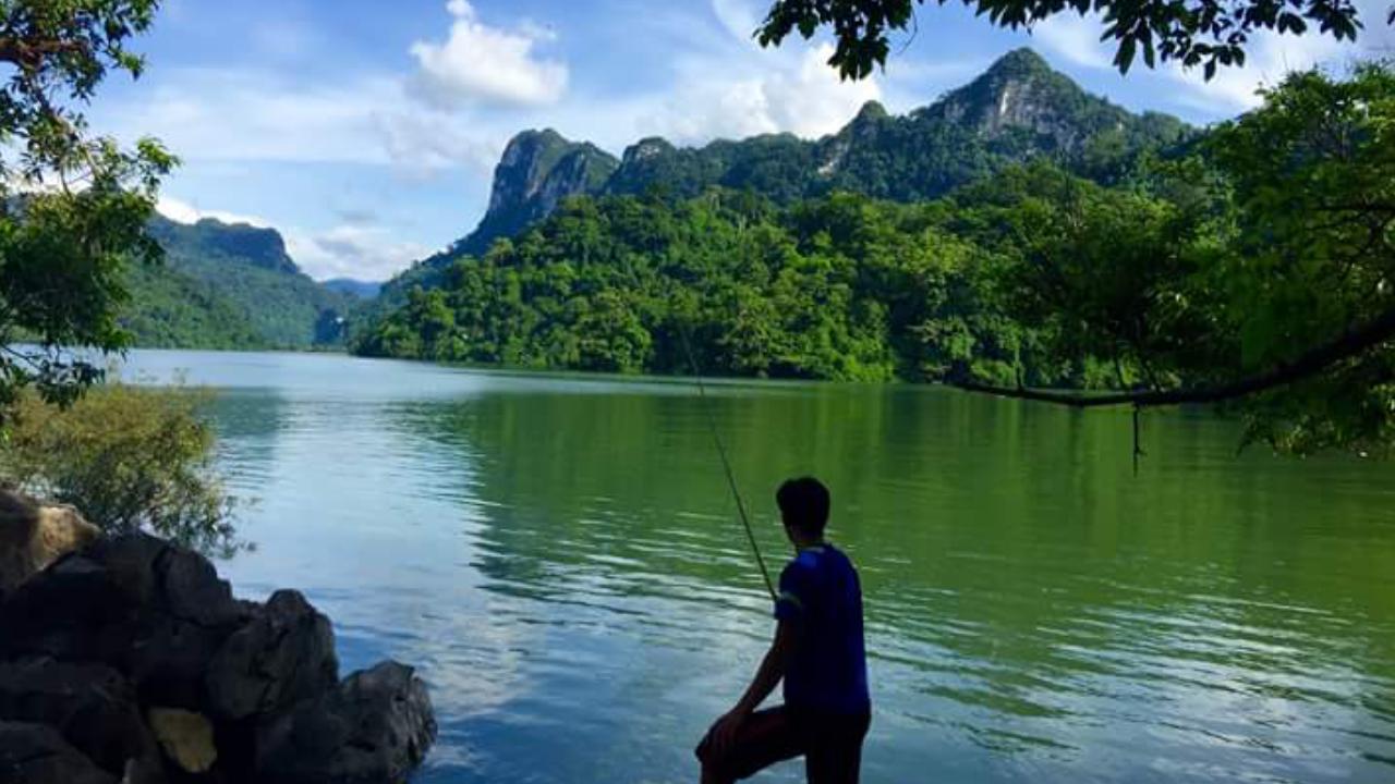 Ba Be lake view
