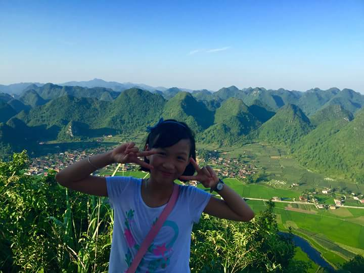 Bac Son travel experience- the view from the top