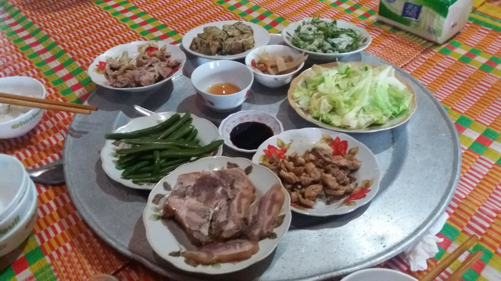Bac Son Travel experience -lunch