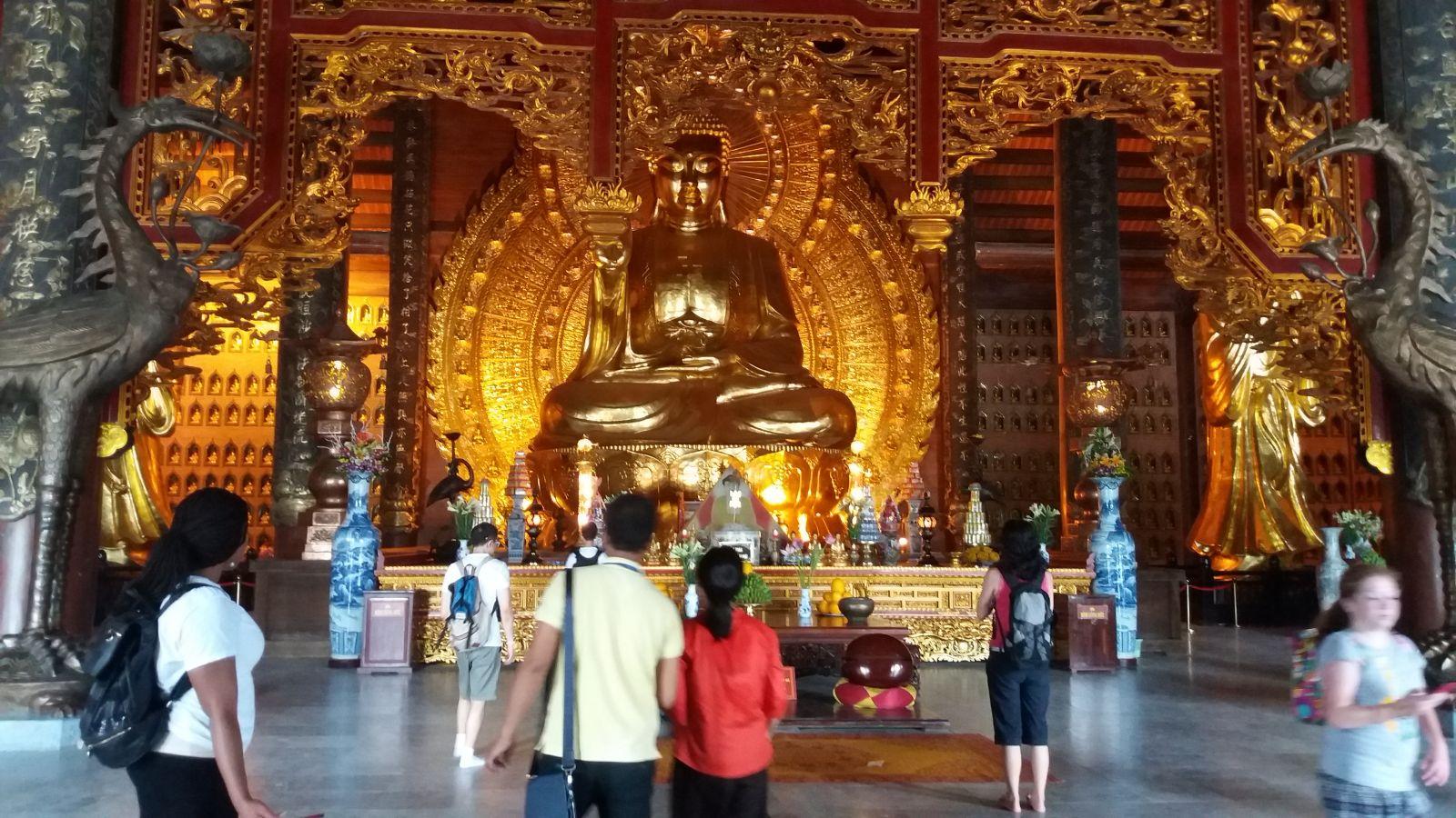 Bai Dinh Pagoda - the Buddha Statute