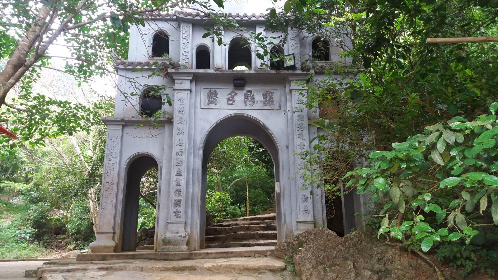 Bai Dinh Pagoda- the ancient area gate