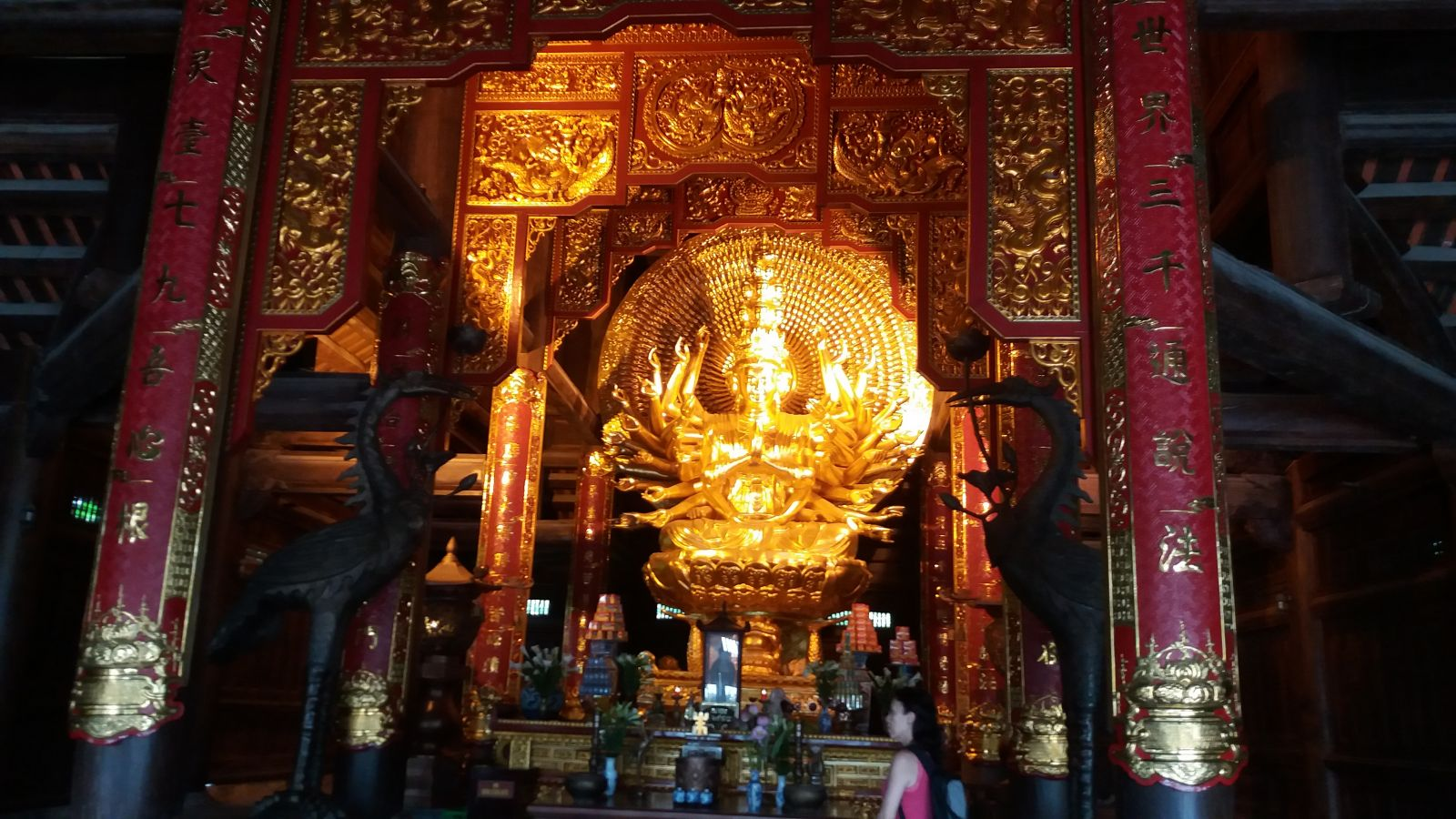 Bai Dinh Pagoda- the buddha statutes1