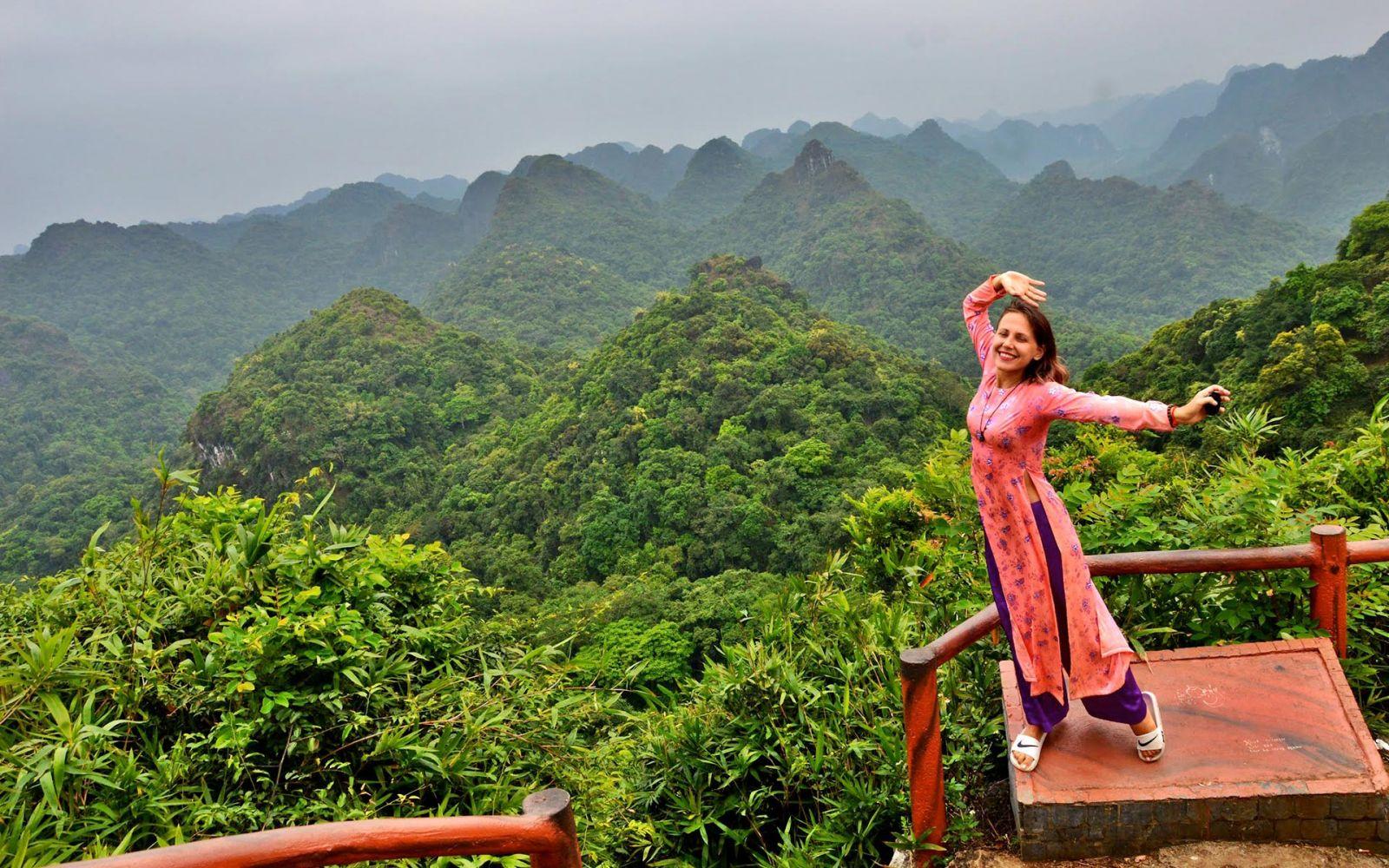 Cat ba national park - trekking sites