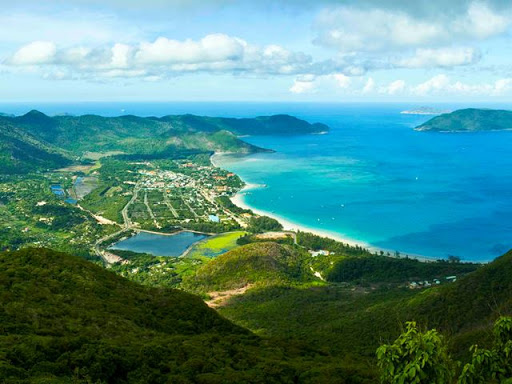 Con Dao islands - Thanh Gia mountain view