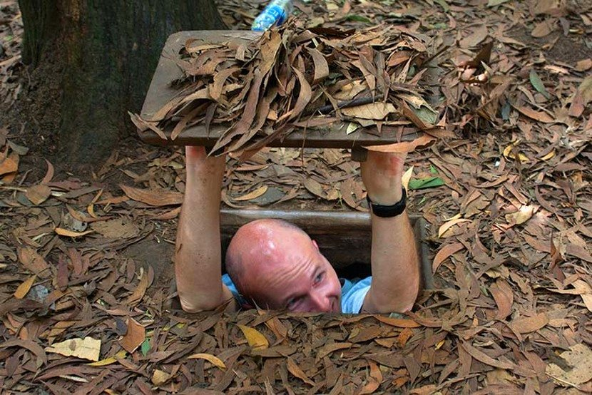 Cu Chi tunnels- Vietnam Tour Package
