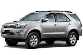 Vietnam Car Rental- Fortuner 7 seater