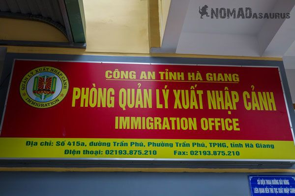 Ha Giang Perming from Ha Gaing Immigration office