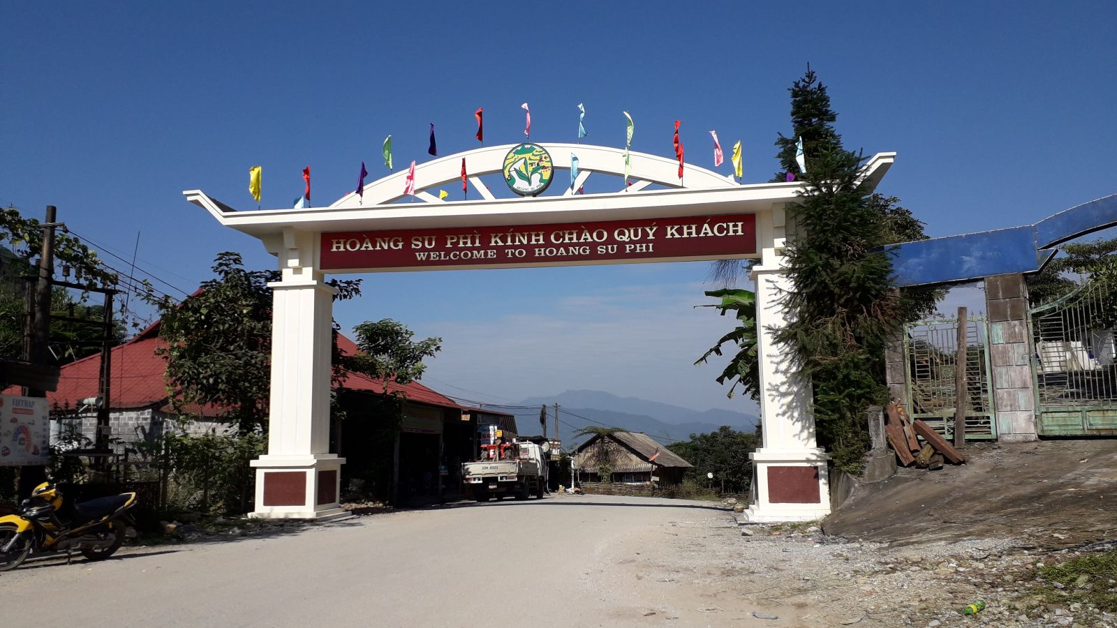 Hoang Su Phi welcome gate
