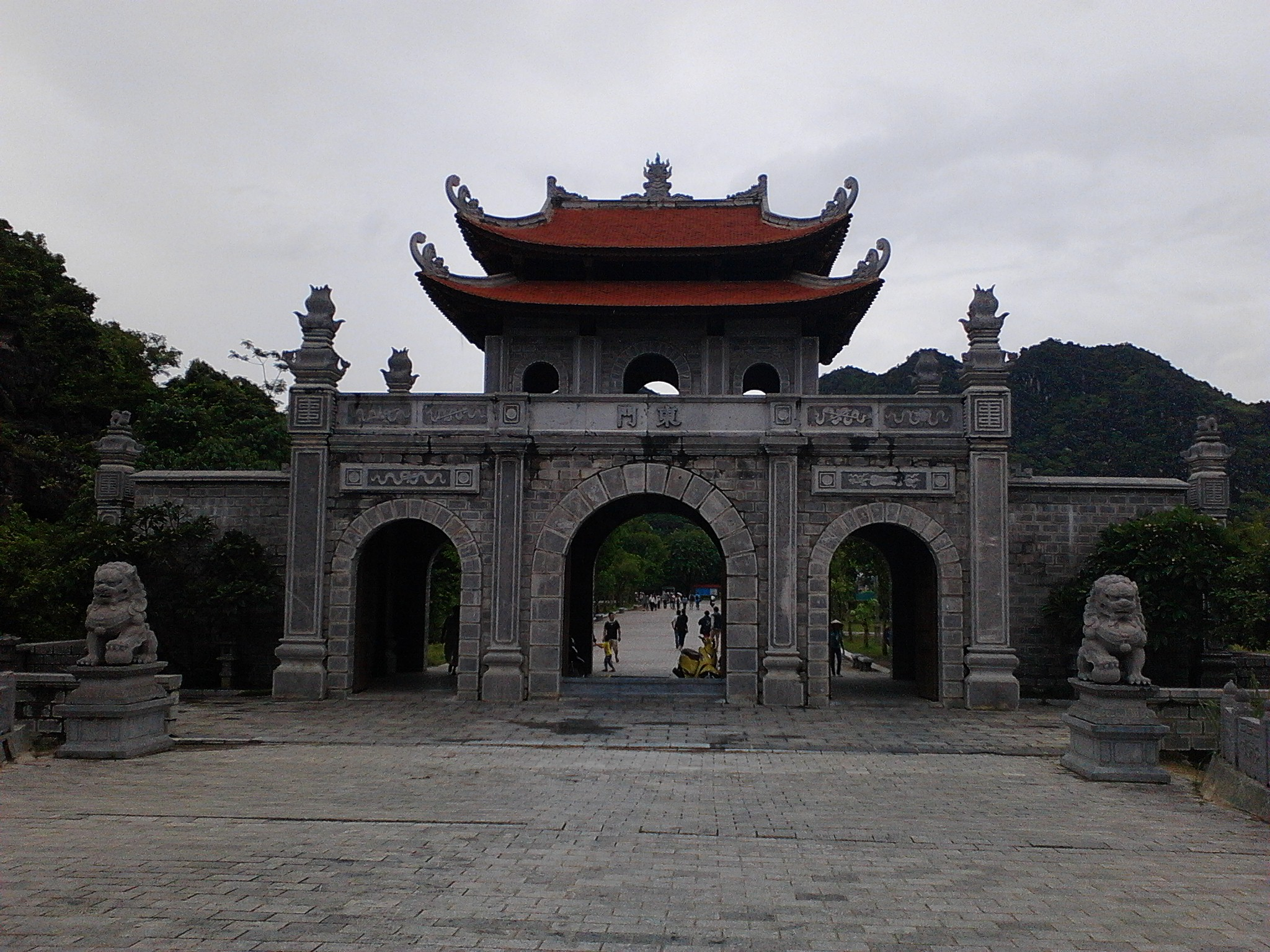 Hoa Lu ancient capital gate