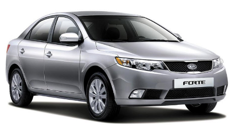Vietnam Car Rental-Kia Forte 4 seater