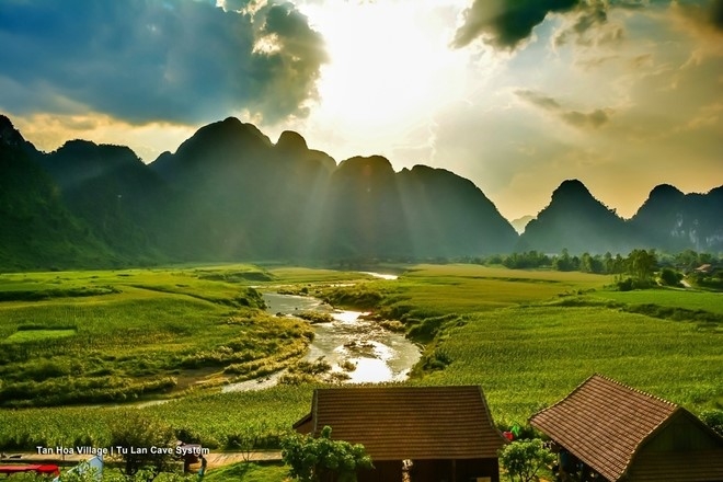 Kong Skull Island -Tu Lan cave in Quang Binh