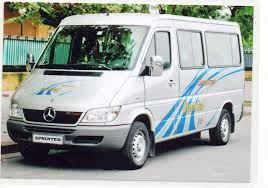 Vietnam Car Rental- Mecedes Ben 16 seater