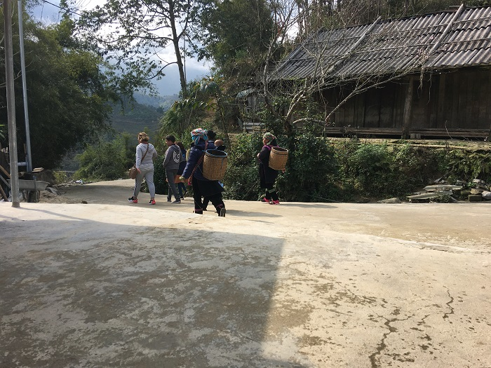 Trekking tour Muong Hoa valley