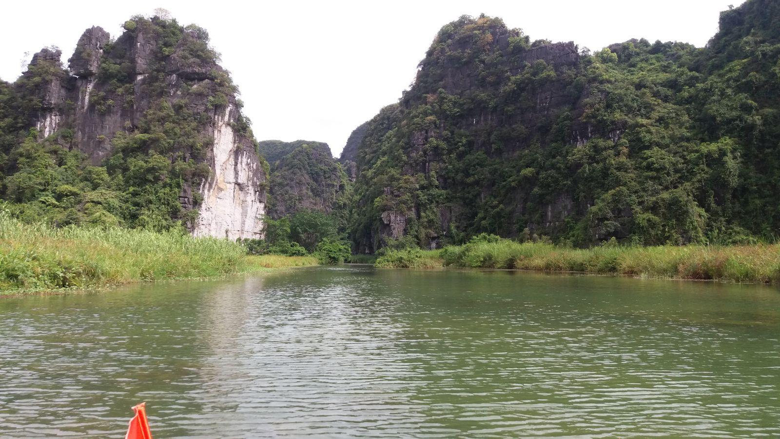 Ninh Binh landscapes-bike