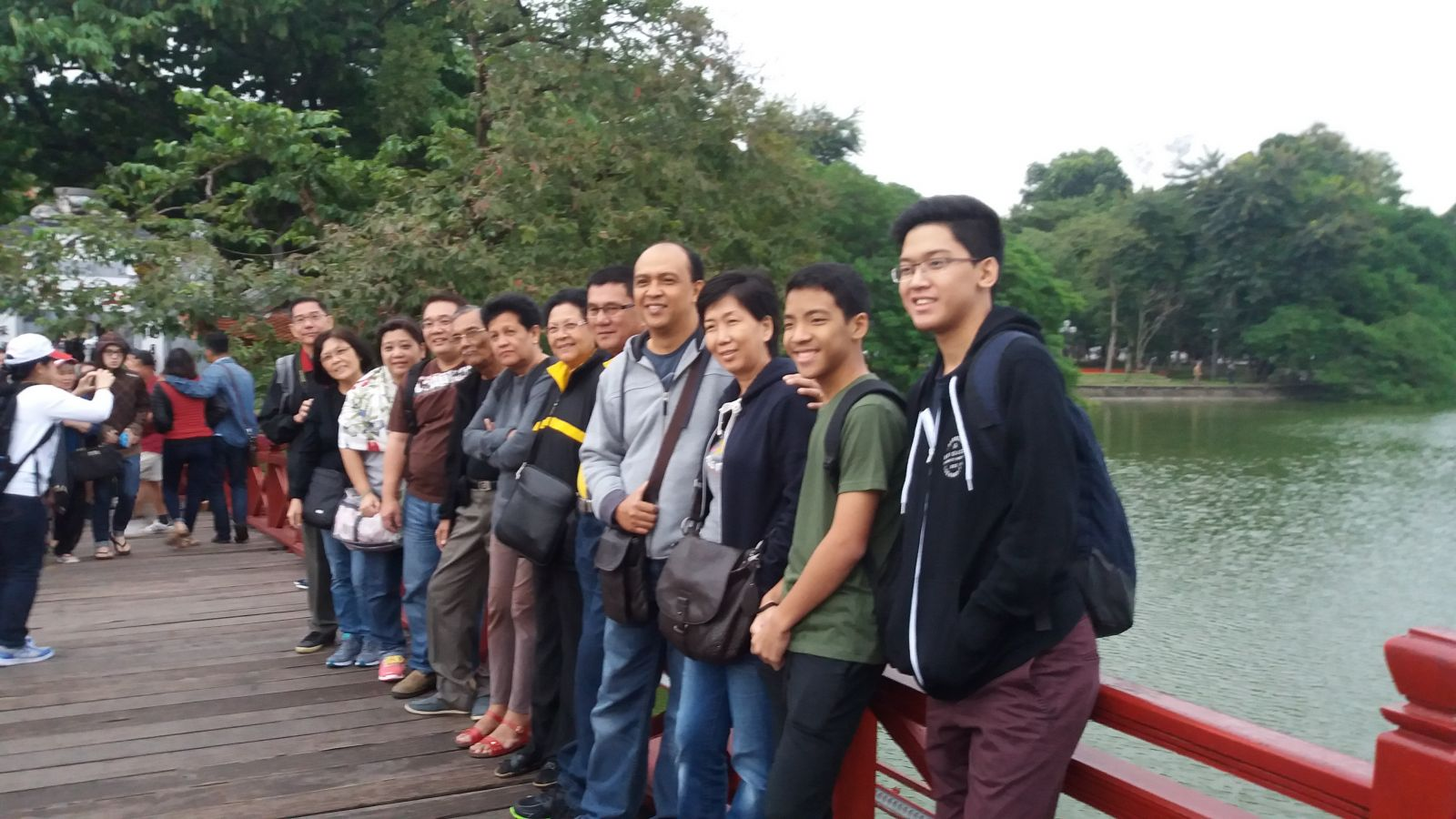 North Vietnam Tour Hoan iem lake
