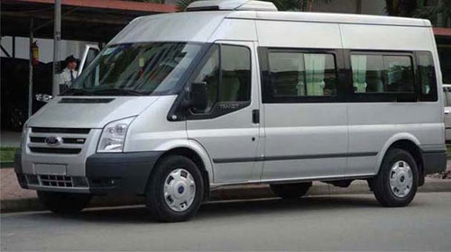 Private car rental Hanoi to Sapa 16 seater van