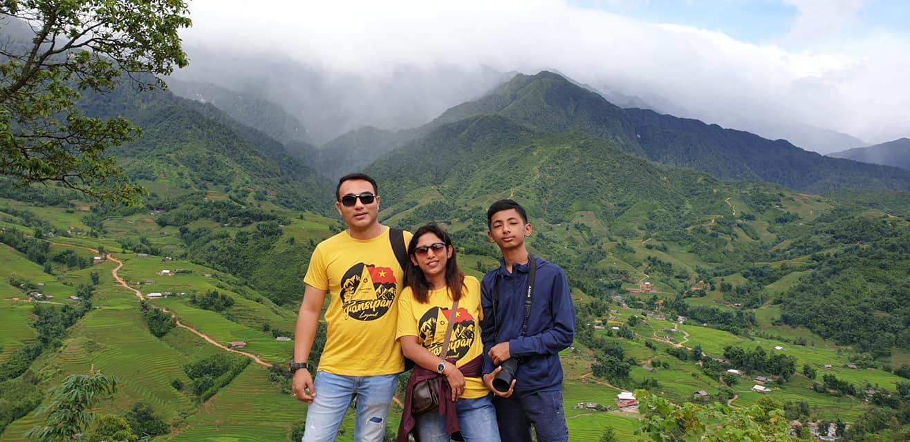 Sapa day excursion - view Muong Hoa valley