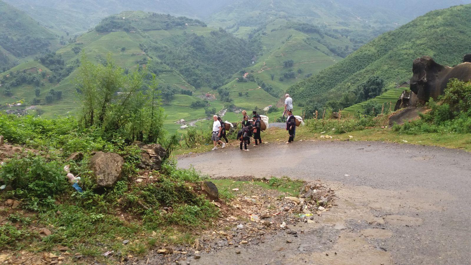 Sapa-Mu Cang Chai tour- trekking