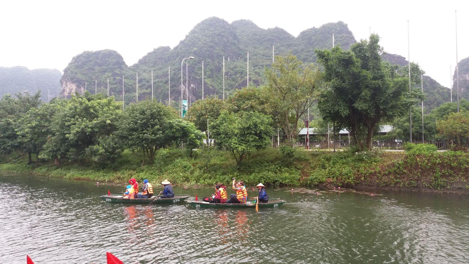 Tam Coc landscapes