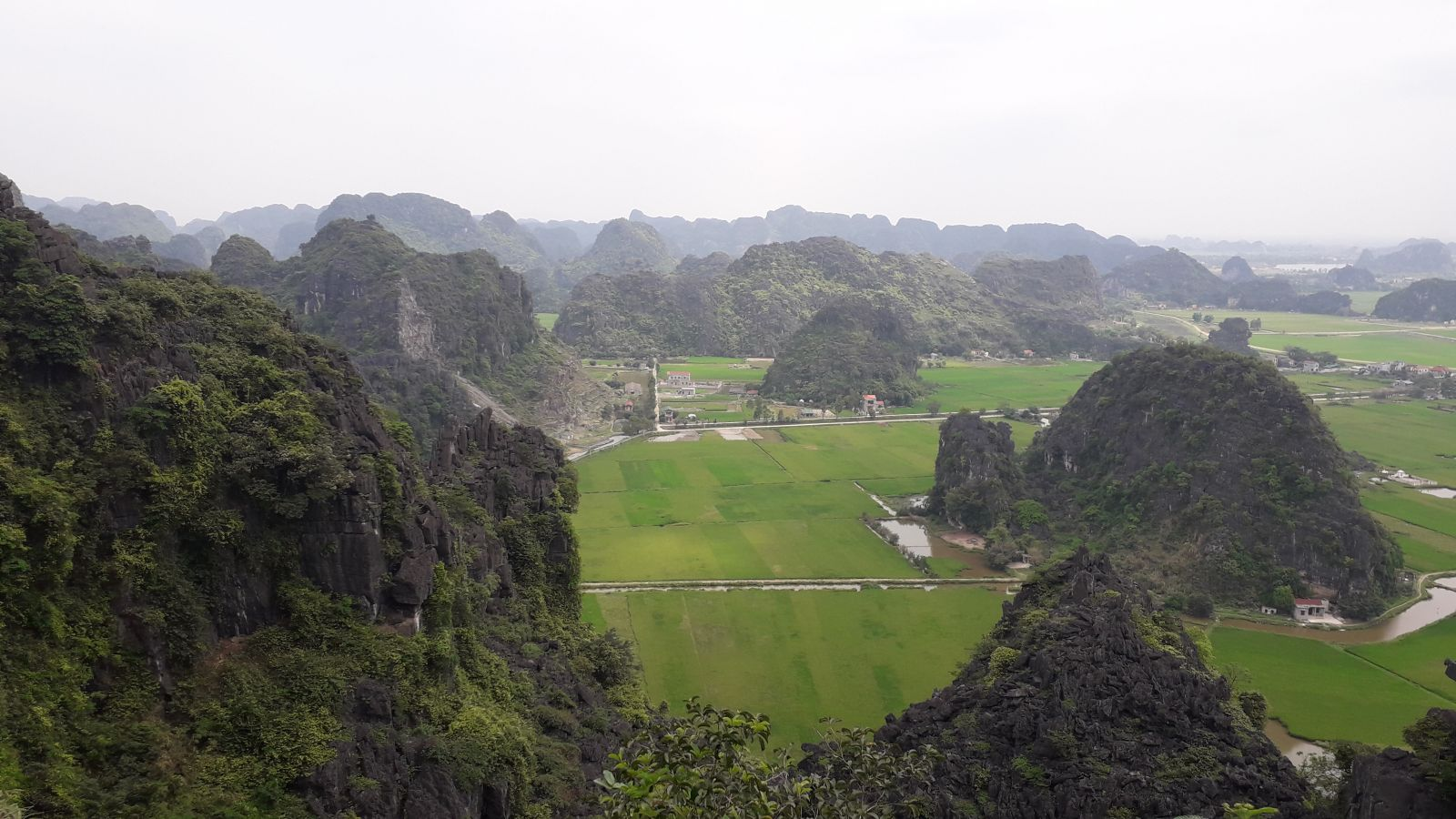 The view of Tuong Mountain