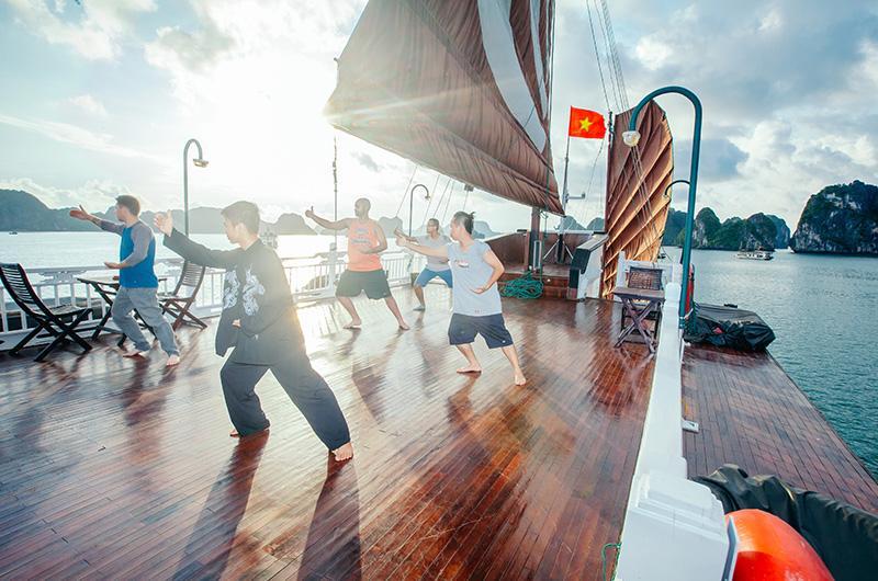 Bhaya Classic Cruise Halong Bay 3 Days Golden Holiday Travel