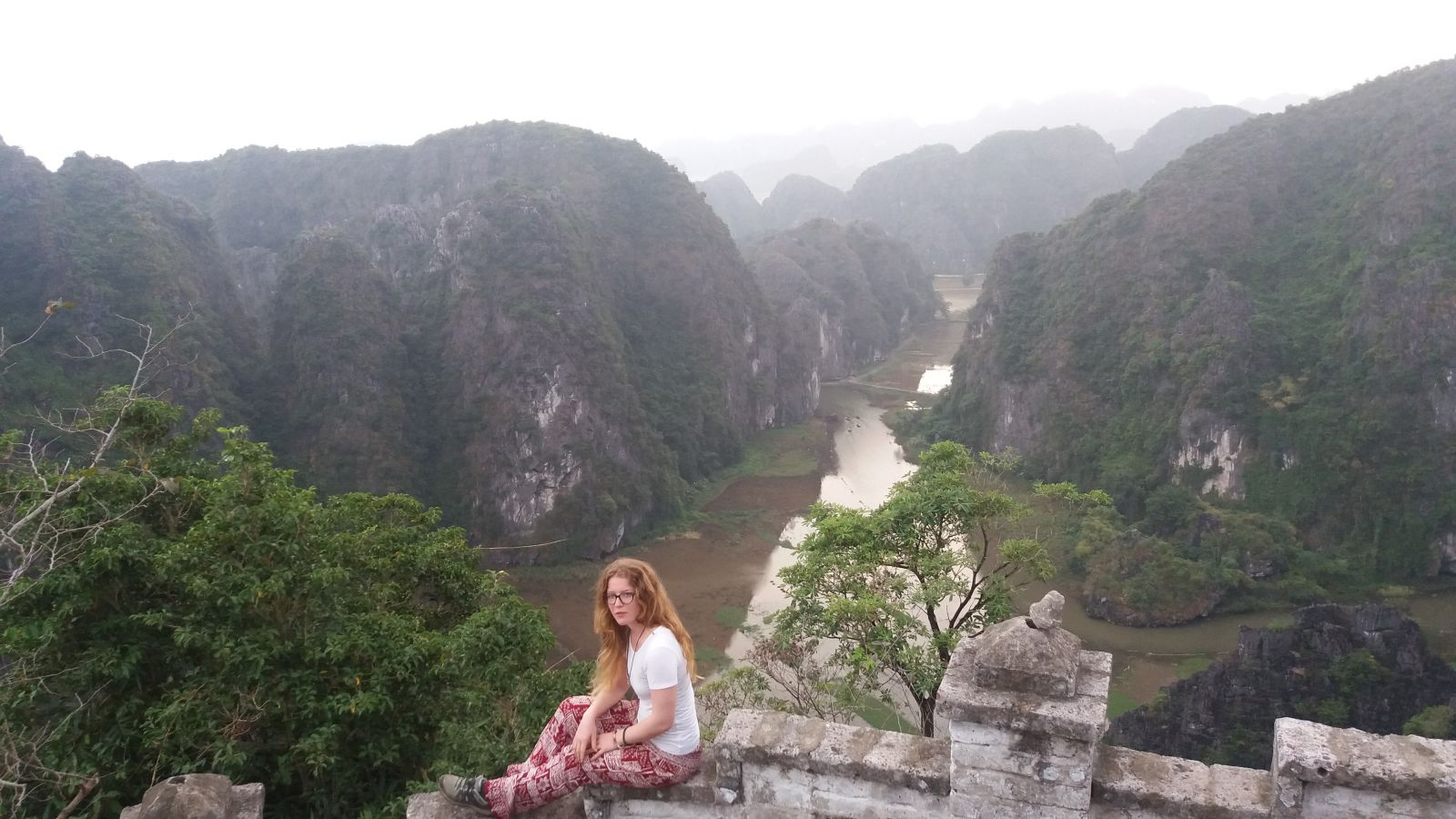 boat tour in Ninh Binh- the view from Mua cave