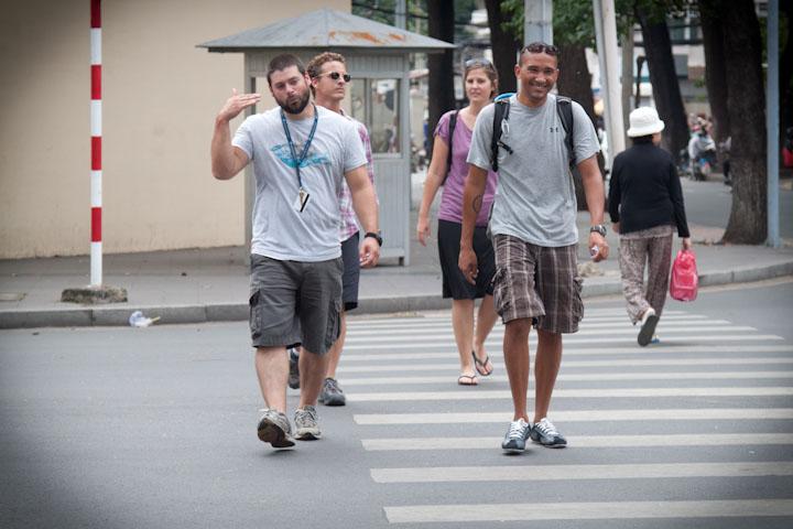 Street crossing skills