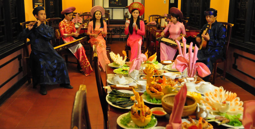 Royal banquet in Hue - thing to try in Vietnam